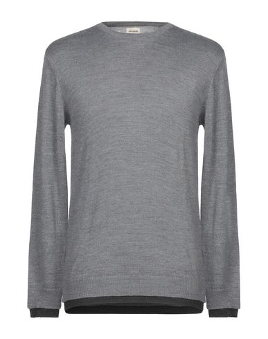 Фото - Мужской свитер OFFICINA 36 серого цвета