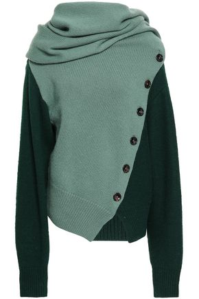 JOSEPH Zed ribbed wool and cashmere-blend sweater