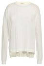 ACNE STUDIOS Paneled cotton-blend top