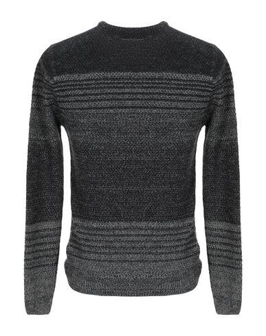 Фото 2 - Мужской свитер  черного цвета