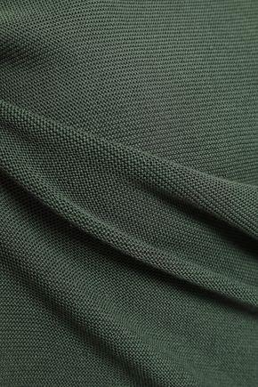 EMPORIO ARMANI Cotton and modal-blend top