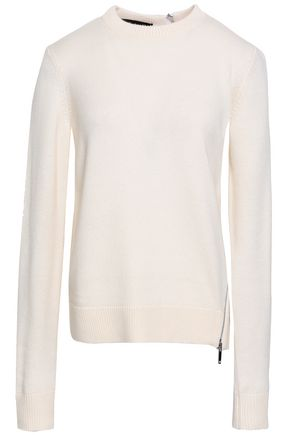 PROENZA SCHOULER Zip-detailed knitted sweater