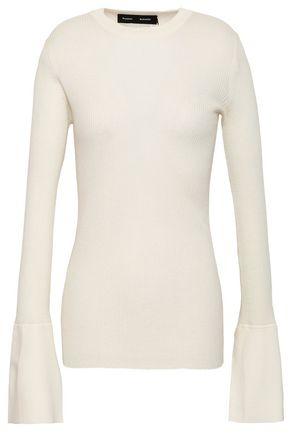 PROENZA SCHOULER Ribbed silk-blend sweater