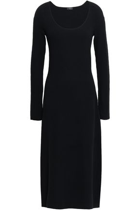 JOSEPH Wool-blend midi dress