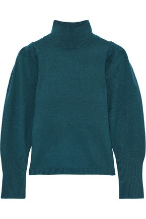 DIANE VON FURSTENBERG Beatrice wool and cashmere-blend turtleneck sweater