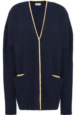 BAUM UND PFERDGARTEN Ribbed merino wool-blend cardigan