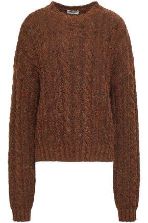 BAUM UND PFERDGARTEN Mélange cable-knit sweater