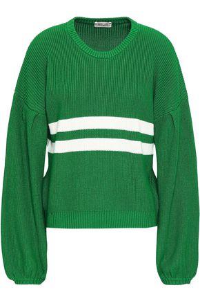 BAUM UND PFERDGARTEN Intarsia cotton-blend sweater
