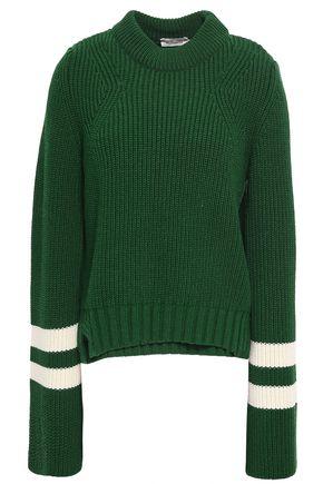 BAUM UND PFERDGARTEN Intarsia merino wool-blend sweater