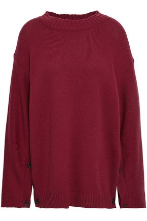 PORTS 1961 Wool and cashmere-blend sweater