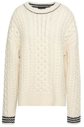 RAG & BONE Cable-knit wool sweater