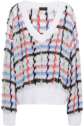 RAG & BONE Oversized open-knit sweater