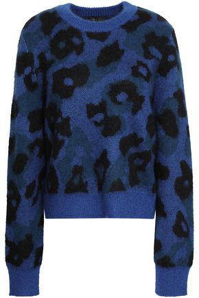 RAG & BONE Printed knitted sweater