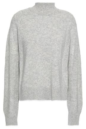 RAG & BONE Mélange cashmere turtleneck sweater