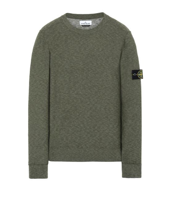 STONE ISLAND 576D1 Sweater Man Olive Green