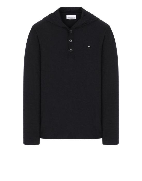 STONE ISLAND 575B9 Sweater Man Black