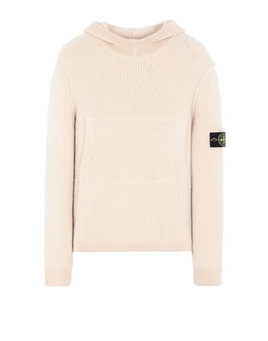STONE ISLAND 540B3 Sweater Man Ecru