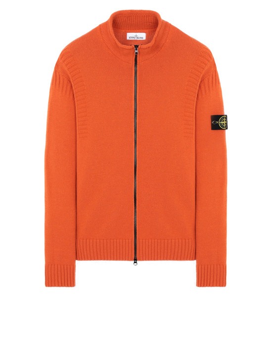 STONE ISLAND 507B6 Sweater Man Orange