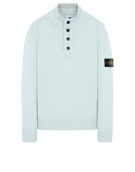 STONE ISLAND 532A3 Sweater Man Dust Grey