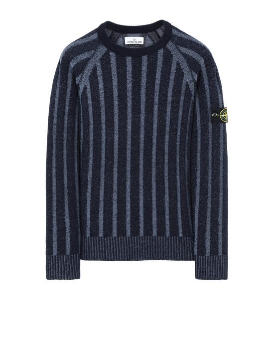 STONE ISLAND 503A4 Sweater Man Blue