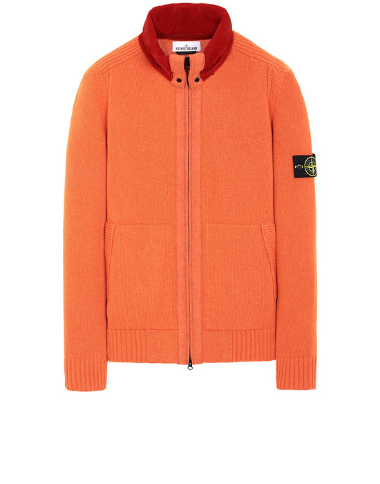 STONE ISLAND 502A3 Sweater Man Orange