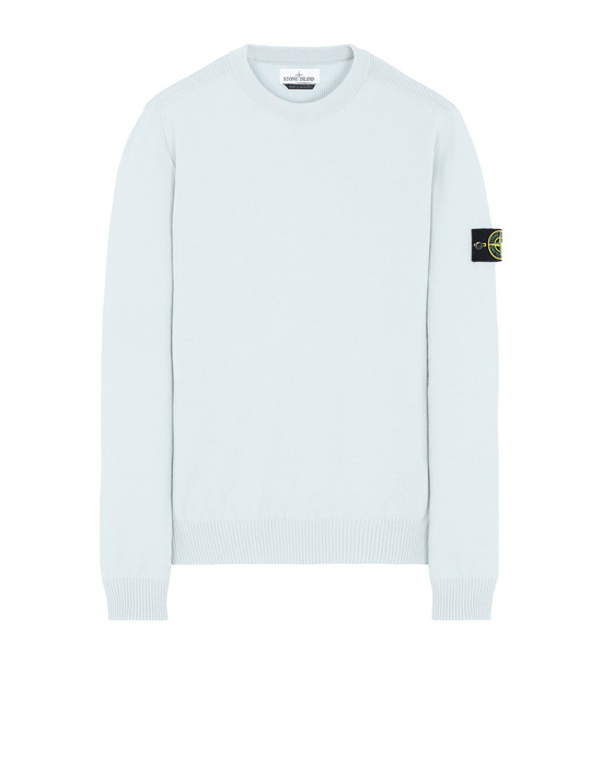 STONE ISLAND 591A1 Sweater Man Dust Grey