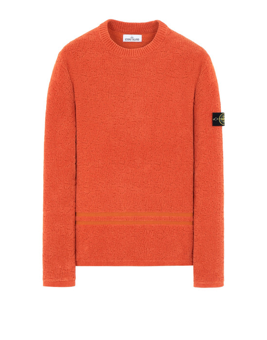 STONE ISLAND 517B1 Sweater Man Orange