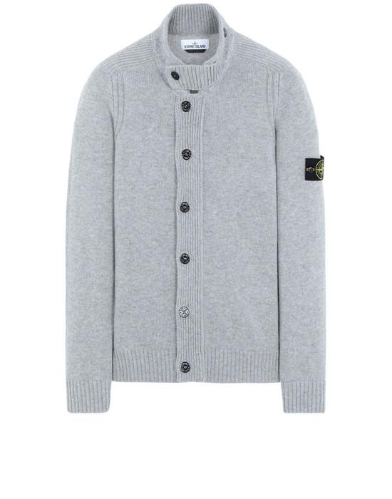 STONE ISLAND 564A3 Sweater Man Pearl Gray