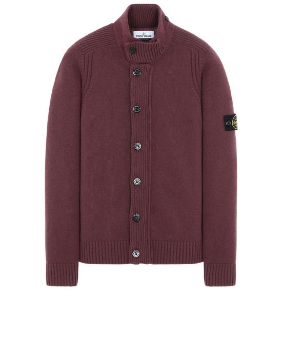 STONE ISLAND 564A3 Sweater Man Dark Burgundy