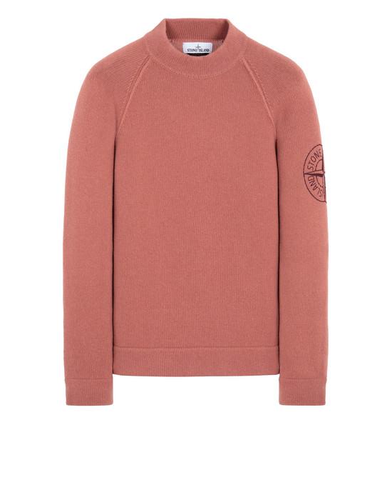 STONE ISLAND 548C7 Sweater Man Rust