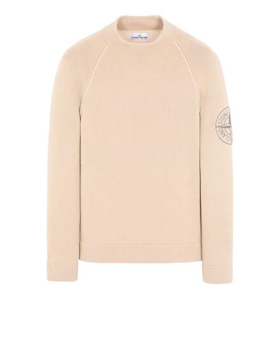 STONE ISLAND 548C7 Sweater Man Ecru
