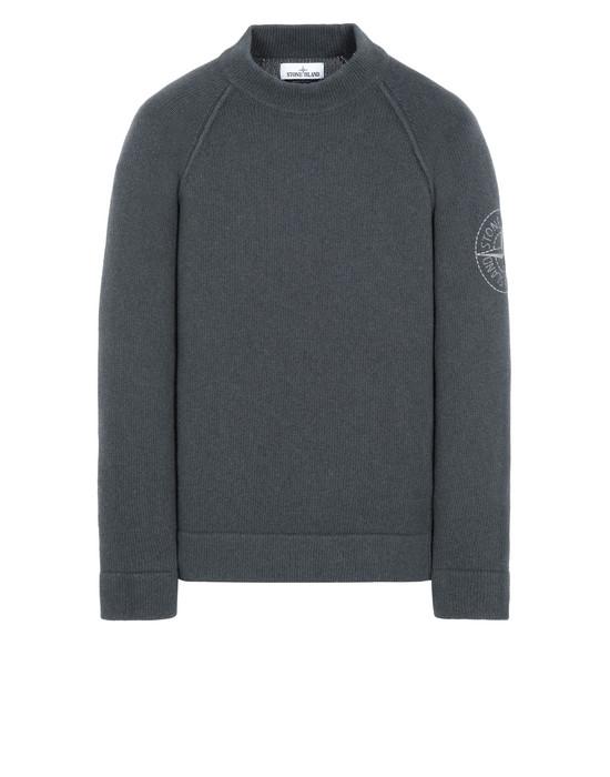 STONE ISLAND 548C7 Sweater Man Dark Gray