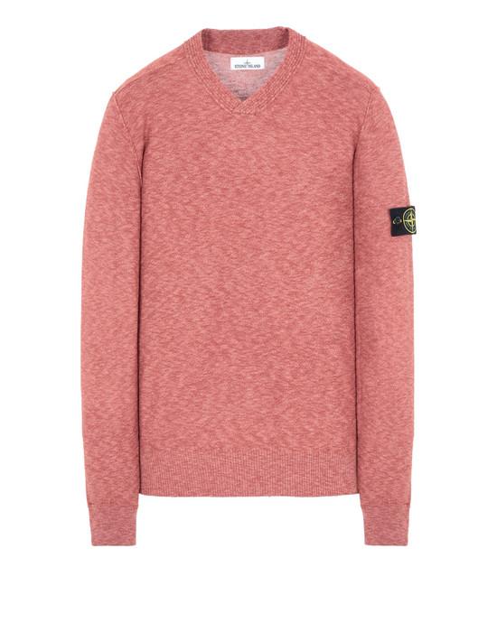 STONE ISLAND 577D1 Sweater Man Rust