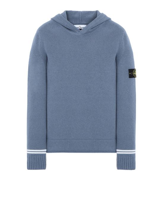 STONE ISLAND 512A3 Sweater Man Avio Blue