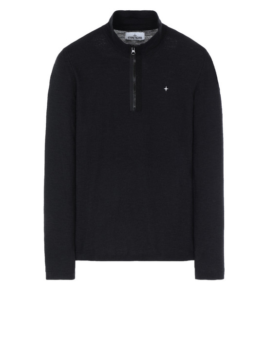 STONE ISLAND 580B9 Sweater Man Black