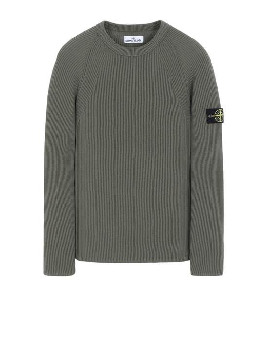 STONE ISLAND 516C2 Sweater Man Olive Green