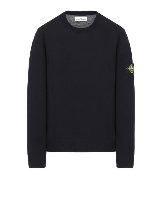 STONE ISLAND 524C4 Sweater Man Blue