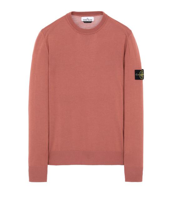 STONE ISLAND 524C4 Sweater Man Rust