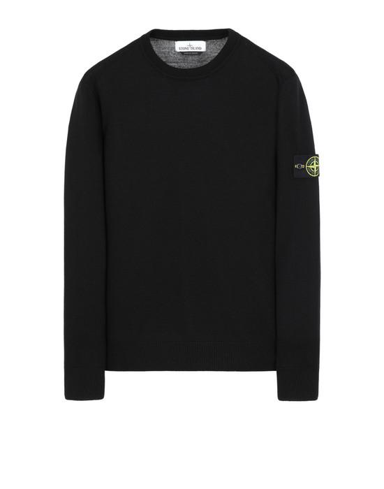 STONE ISLAND 524C4 Sweater Man Black
