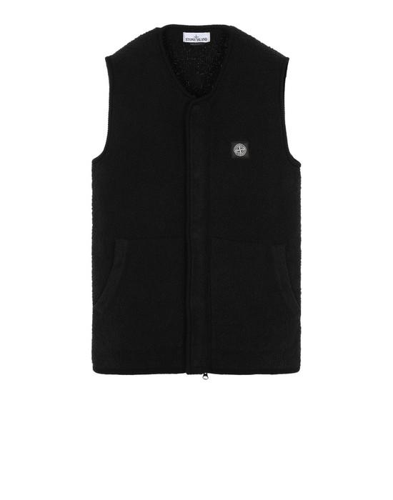 STONE ISLAND 566D2 Sweater Man Black