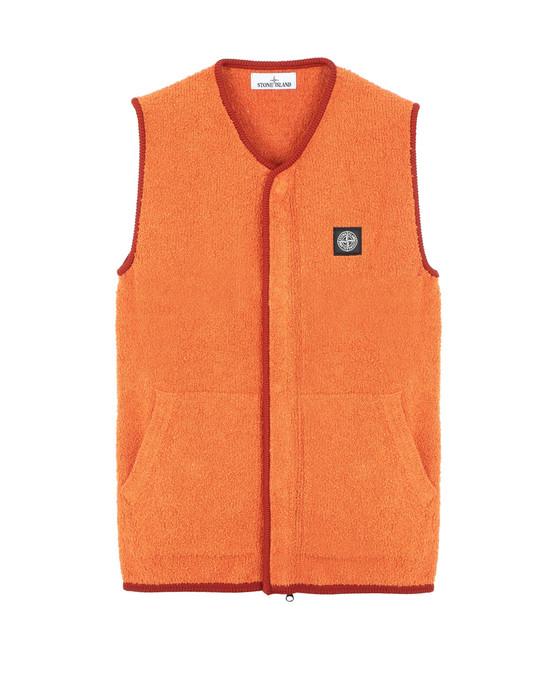 STONE ISLAND 566D2 Sweater Man Orange