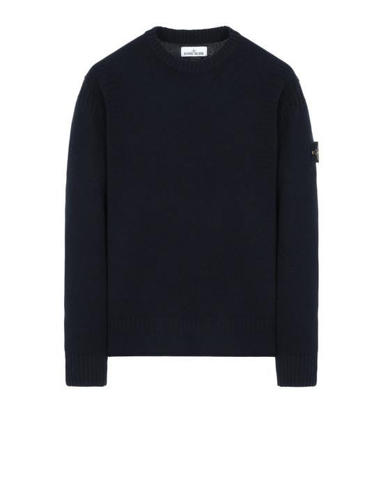 STONE ISLAND 519B6 Sweater Man Blue