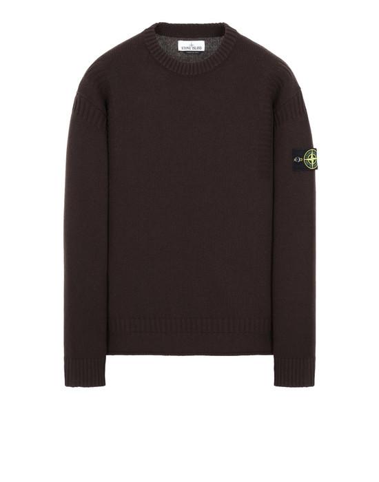 STONE ISLAND 519B6 Sweater Man Dark Brown