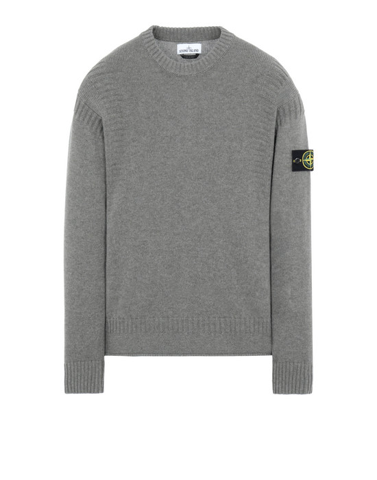 STONE ISLAND 519B6 Sweater Man Mud