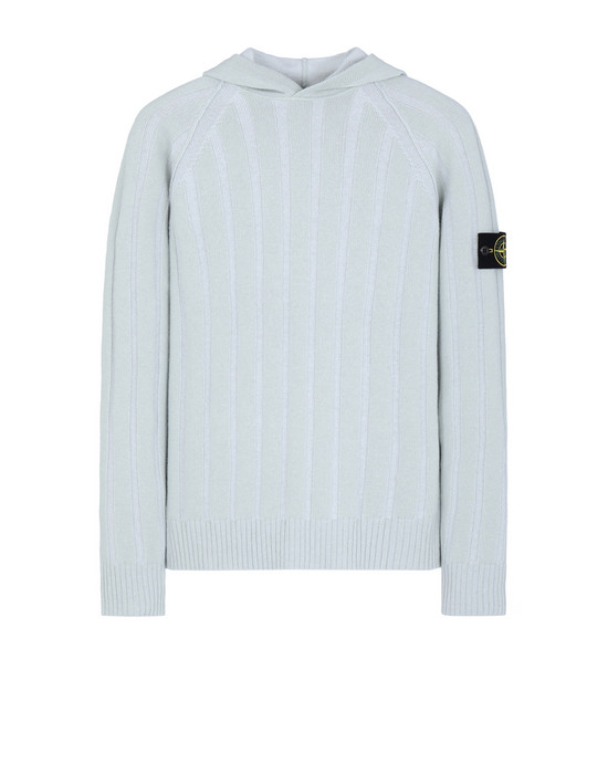 STONE ISLAND 504A4 Sweater Man Dust Gray
