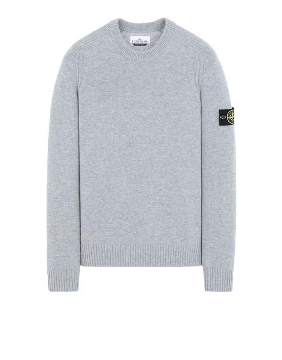 STONE ISLAND 552A3 Sweater Man Pearl Gray