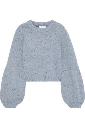 MILLY Mélange wool-blend sweater
