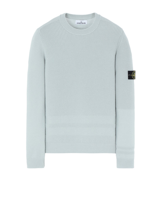 STONE ISLAND 592A1 Sweater Man Dust Grey