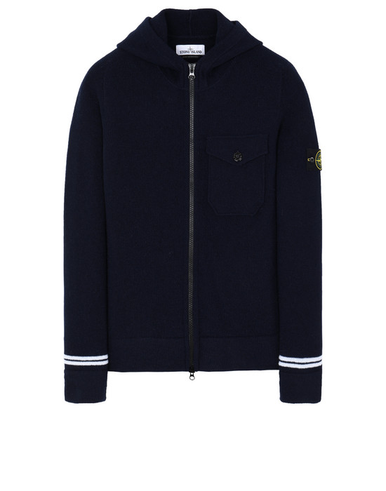 STONE ISLAND 539A3 Sweater Man Blue