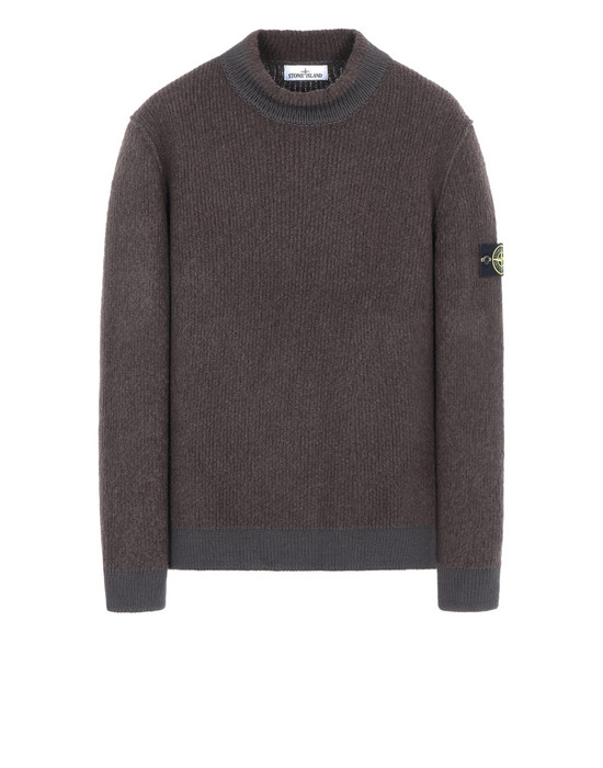 STONE ISLAND 523B3 Sweater Man Dark Brown